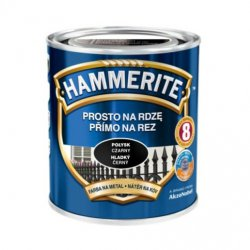 "Hammerite - kovový lak na lesk ""Straight for rust"""